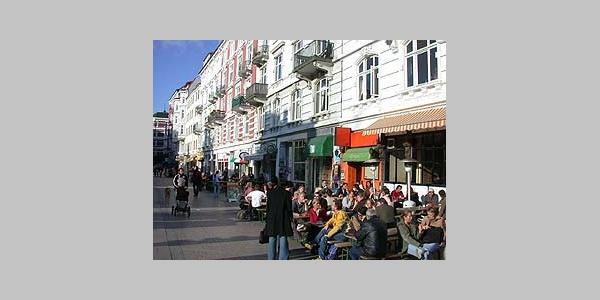 Piazza am Schulterblatt.