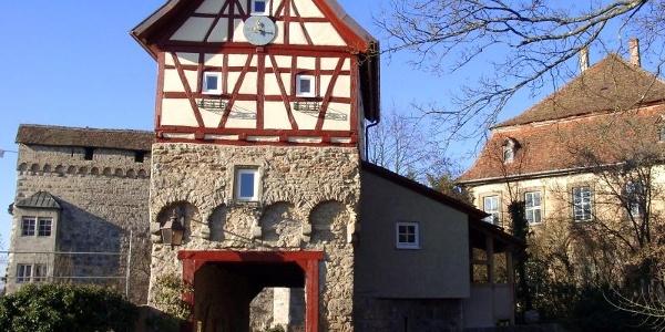 Die Stauferburg Schloss Stetten
