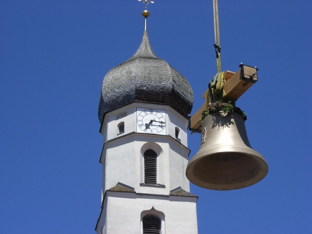 Glockenweihe in Antdorf (Gemeinde Antdorf)