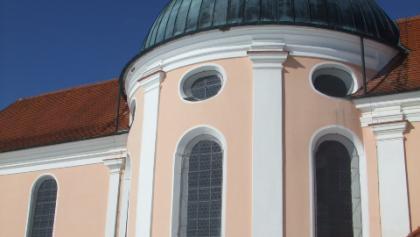 Die Kapelle Maria Seelenberg in Eggenthal im Ostallgäu.