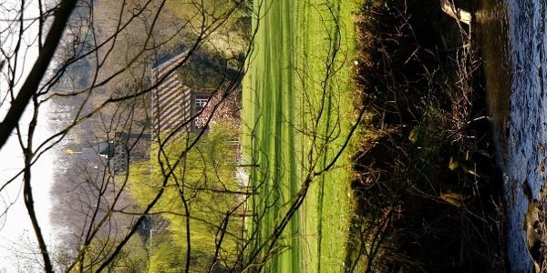 Blick auf Schloss Oefte.