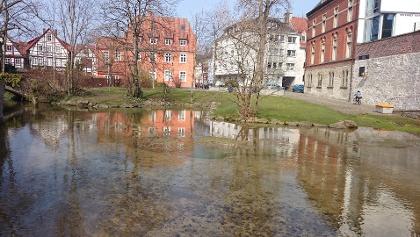 Paderquellen und Kaiserpfalz