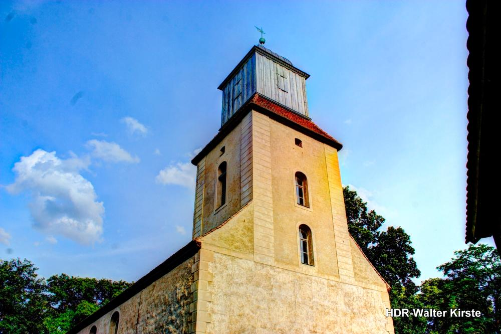 Kirche Zernikow Turm