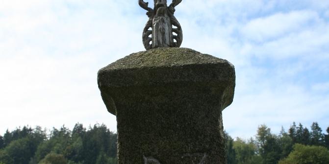Eines von vielen Kruzifixen im Verlauf unser Tour.