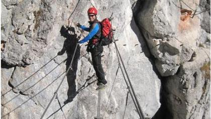 Klettersteig Austria Map : Die schönsten klettersteige in Österreich