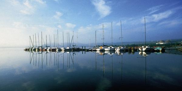 Seehafen am Bostalsee