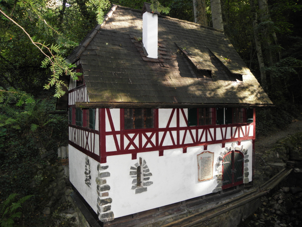 Miniaturnachbildung der ehem. Bankholzer Mühle