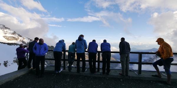 Am Rifugio Guide della Val d´Ayas