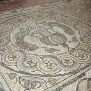 Mosaikboden Großmeisterpalast.