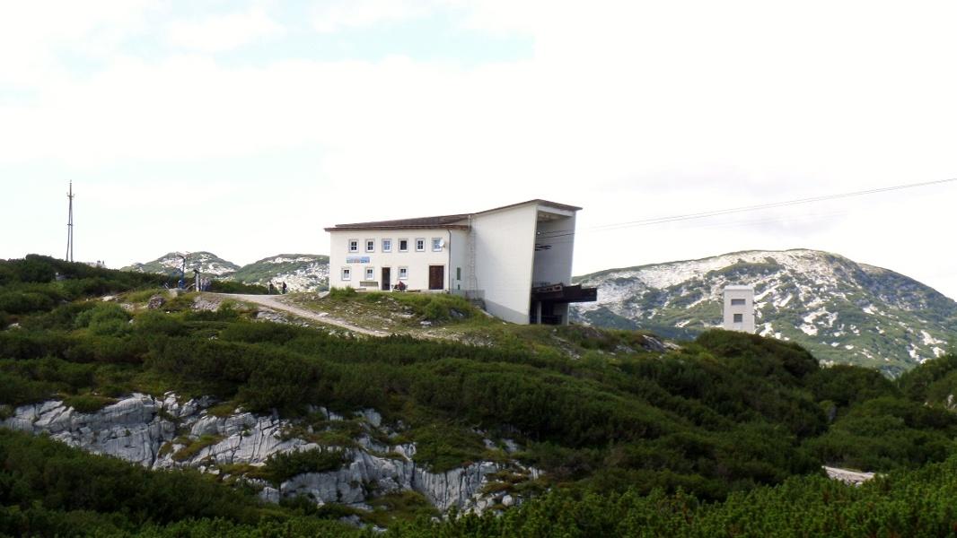 Seilbahnstation Gjaid Alm