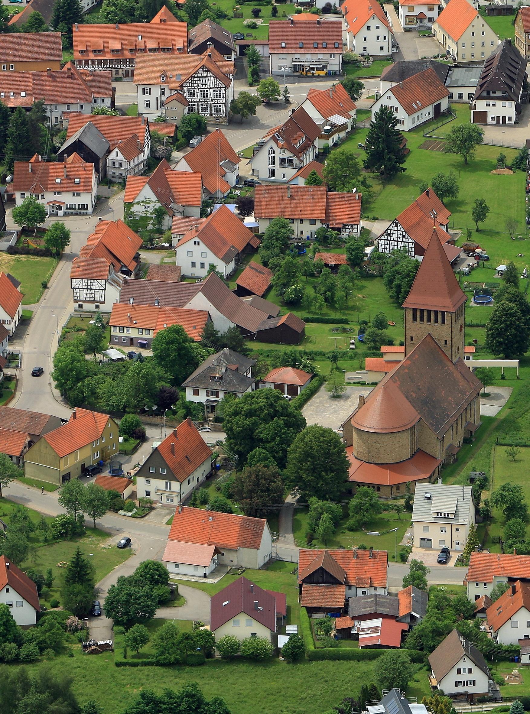 Blick auf Grosselfingen
