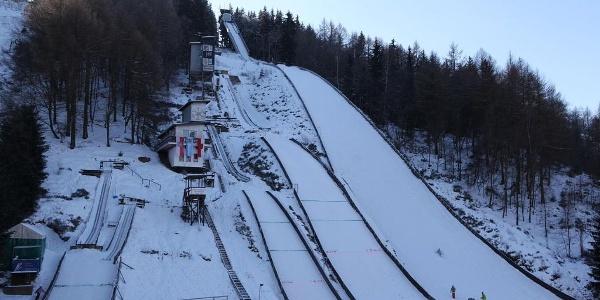 Skisprungschanze Lauscha