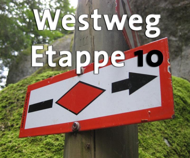 Westweg-Etappe 10 (West): Hinterzarten - Wiedener Eck