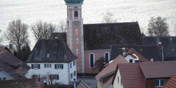 Blick vom Walzenberg auf Allensbach