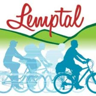 Markierung Lemptalradweg