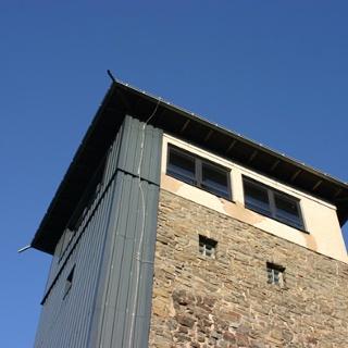 Der Robert-Kolb-Turm.
