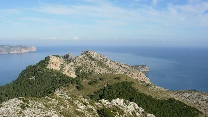 Ausblick von der Talaia de Alcúdia.