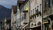 Through Partenkirchen in the footsteps of the Romans