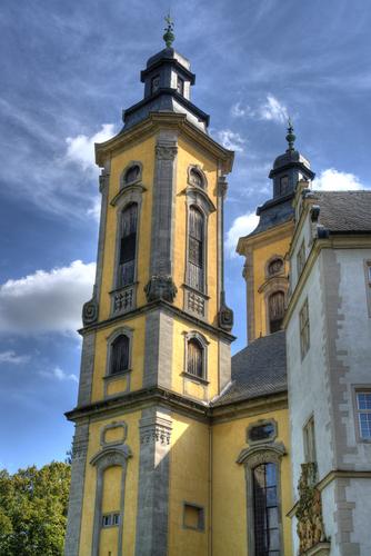 Die Schlosskirche.