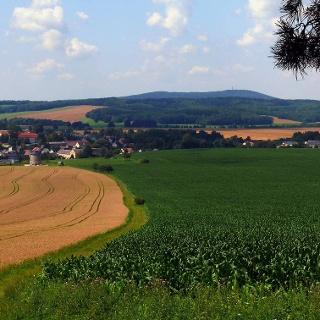 Blick ins Haselbachtal