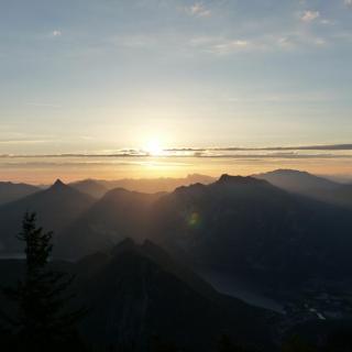 Sonnenaufgang am Feuerkogel