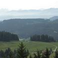 Blick auf die Alpen.