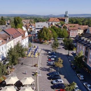 In Donaueschingen startet unsere abwechslungsreiche Mountaintbike-Tour auf die Höhen der Baar.