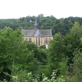 Der Dom von Altenberg.