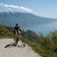 Bike-Trial mit Seeblick