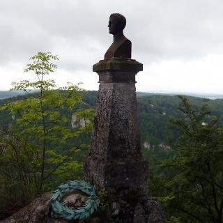 Wilhelm Hauff war Hauptvertreter der Schwäbischen Dichterschule.