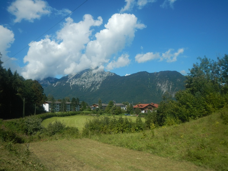 Ausblick auf die umliegende Berge