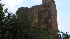 Die Ruine Seeburg überrascht uns durch ihre ungewöhnliche Lage.