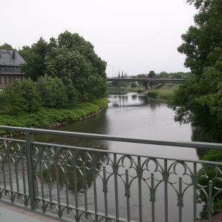 Zwickauer Mulde von der Paradiesbrücke