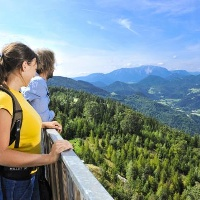 Schneebergblick Rundweg