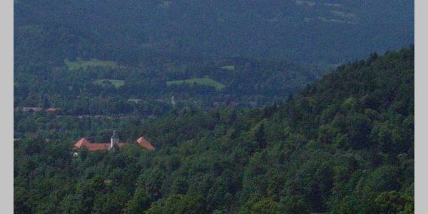 Ein Blick auf Schloss Hohenburg.