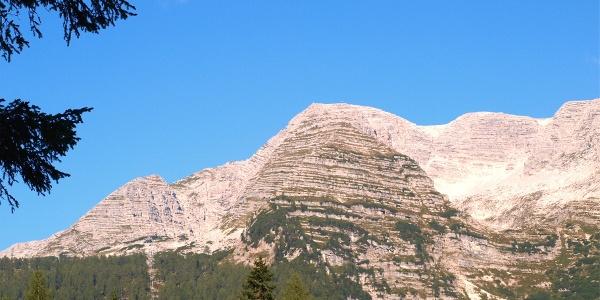 Standseilbahn 1429m, Blick zum Warscheneckmassiv