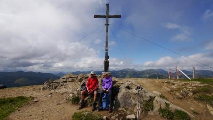 Am Gipfel des Riedbergerhorns