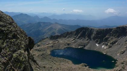 Der Lavu Bellebone, vom Gipfel aus Richtung Süden