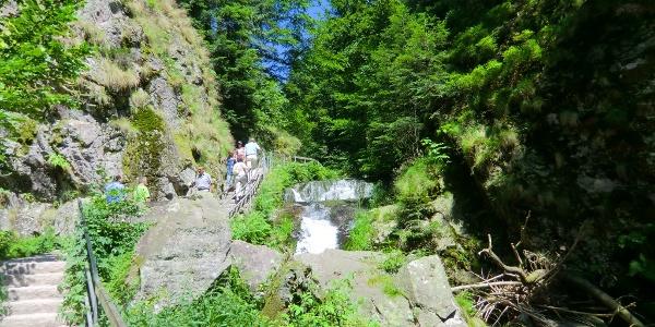 Wasserfall Allerheiligen