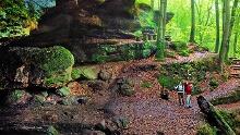 Erwandern Sie eine Teilstrecke des Rodalber Felsenwanderweges