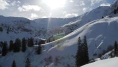 Aufbaukurs Skitourengehen  Heidelberger Hütte