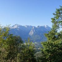 Fast den ganzen Tag über gut zu sehen: die Zugspitze