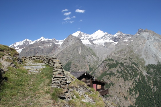 Schaliberg (2'000 m) oberhalb von Randa