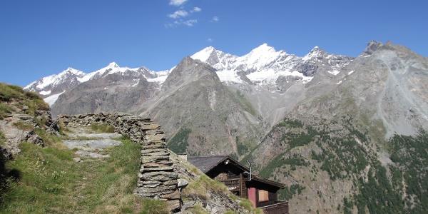 Schaliber (2'000 m) above Randa