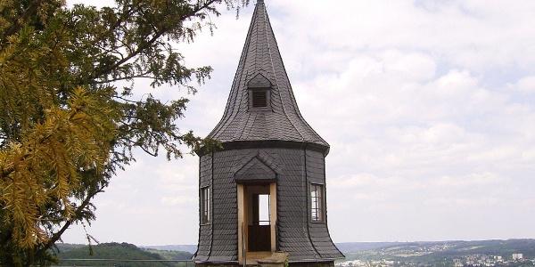 Wehrgang am Schloss Hohenlimburg.