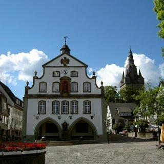 Das Rathaus in Brilon.