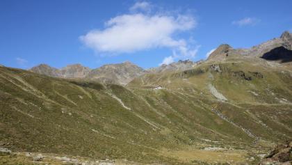 Blick zurück zur Pforzheimer Hütte