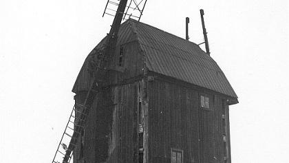 Die Paltrockwindmühle in Grassau.