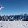 Gipfel Wertacher Hörnle im Winter