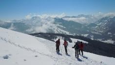 Schneeschuhwochenende Hörnerkette - Allgäu